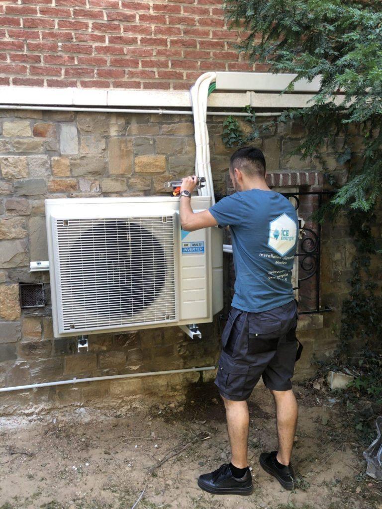 intervention dépannage climatisation bruxelles