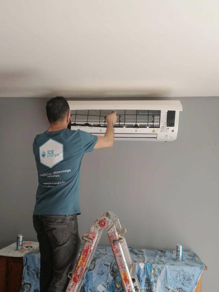 dépannage et entretien de climatisation à Bruxelles avec Ice Energie